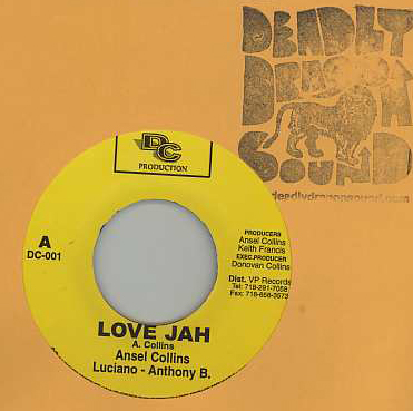 Ansel Collins & Anthony B & Luciano - Love Jah