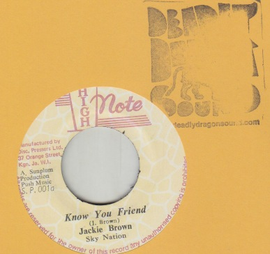 Jackie Brown - Know Your Friend