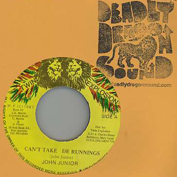 John Junior - Cant Take De Runnings