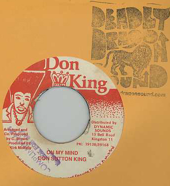Don Sutton King - On My Mind