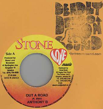 Anthony B / Singer J - Out A Road / Shout It Out