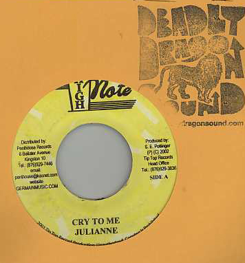 Julianne / Joe White - Cry To Me / If It Don't Work Out