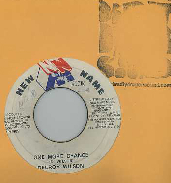 Delroy Wilson - One More Chance