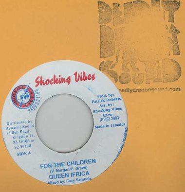Queen Ifrica / Pam Hall - For The Children / Cant Trust You