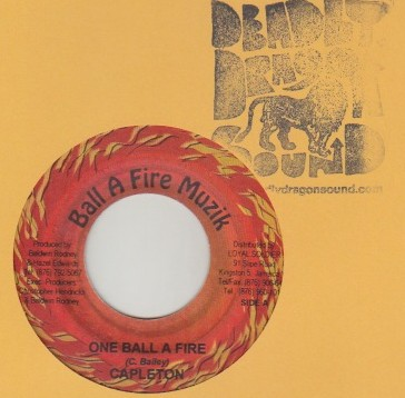 Capleton - One Ball A Fire