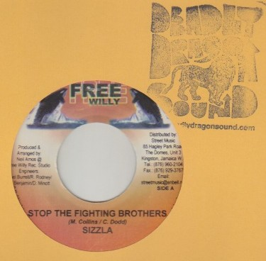 Sizzla - Stop The Fighting Brothers