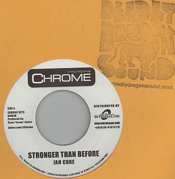 Jah Cure / Alaine - Stronger Than Before / What A Lot Of Love