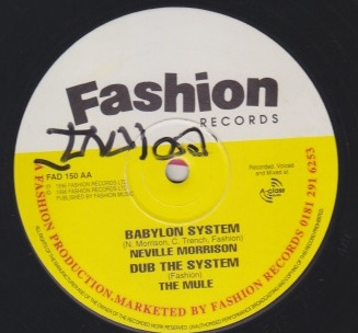 Neville Morrison - Babylon System / If I Didnt Love You