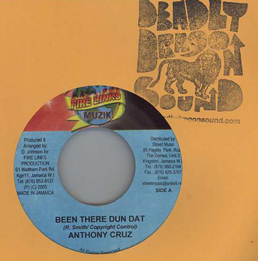 Anthony Cruz - Been There Dun Dat