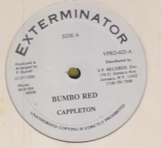 Capleton - Bumbo Red