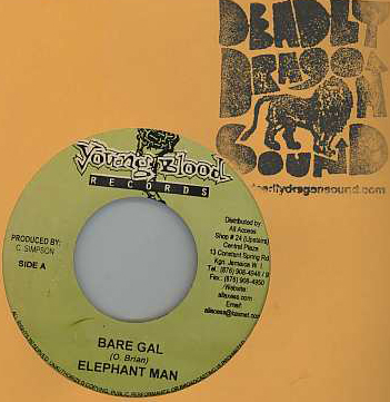 Elephant Man - Bare Gal