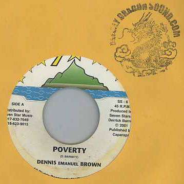 Dennis Brown - Poverty