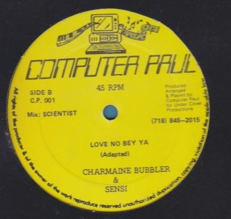 Charmaine Bubbler & Sensi - Love No Bey Ya