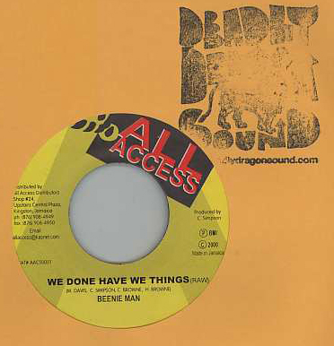 Beenie Man - We Have Done Things