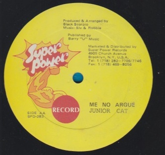 Junior Cat / Admiral Tibett - Me No Argue / Nah Sleep Jailhouse
