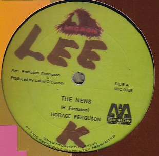 Horace Ferguson / Papa San - The News / Computer Broom