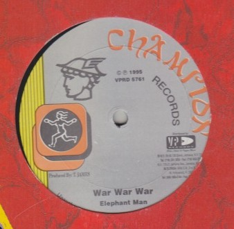 Nitty Kutchie / Elephant Man - Cant Leave You Alone / War War War