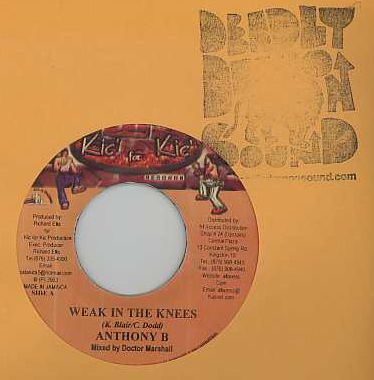 Anthony B / Admiral Tibet - Weak In The Knees / Every Man