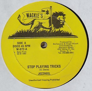 Jezreel - Stop Playing Tricks / Cheating Girl