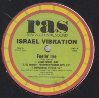 Israel Vibration - Feeling Irie