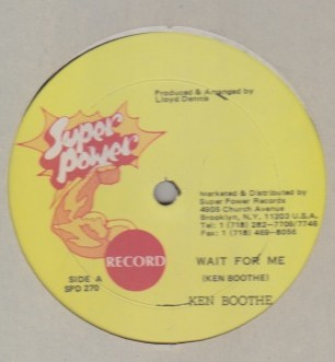Ken Boothe - Wait For Me