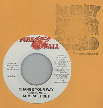 Admiral Tibbet - Change Your Way