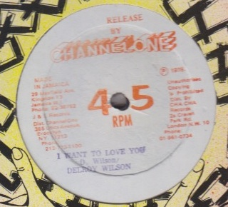 Delroy Wilson - I Want To Love You / Money Love