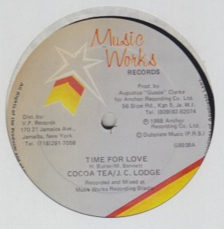 Cocoa Tea & JC Lodge - Time For Love
