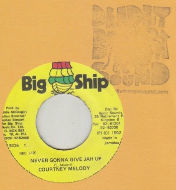Courtney Melody - Never Gonna Give Jah Up