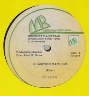 Pliers - Champion Darling / Cookie Jar