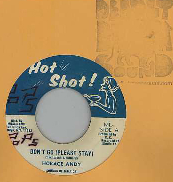 Horace Andy - Dont Go (Please Stay)