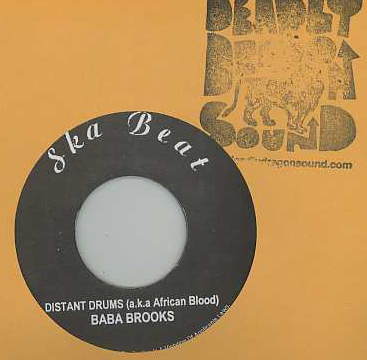Baba Brooks / Johnny Moore - Distant Drums (African Blood) / South China Sea