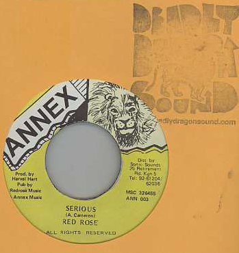 Anthony Red Rose - Serious