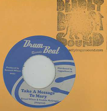 Ernest Wilson & Freddie McGregor / Hippy Boys - Take A Message To Mary / Spy 13
