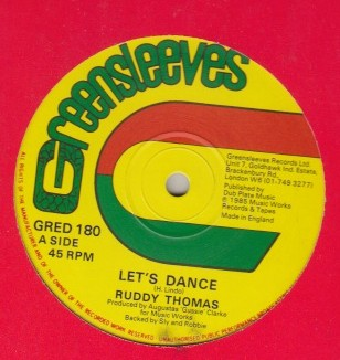 Ruddy Thomas / Larry Marshall - Lets Dance / I Admire You
