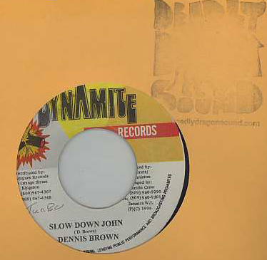 Dennis Brown - Slow Down John