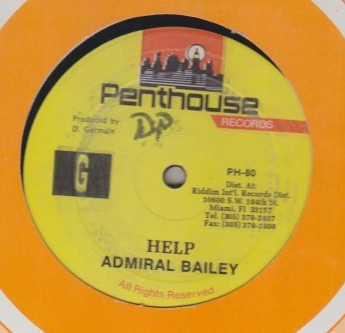 Admiral Bailey - Help