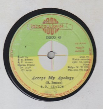 BB Seaton - Accept My Apology / Im Aware Of Love
