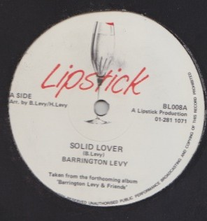 Barrington Levy - Solid Lover