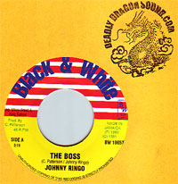 Johnny Ringo - The Boss