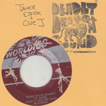Jackie Estick w. Clue J - Hard Blues Woman / My Baby