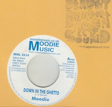 Moodie - Down In The Ghetto
