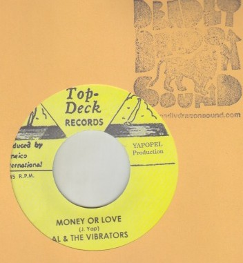 Al & The Vibrators / Ferdy Nelson - Money Or Love / Certianly