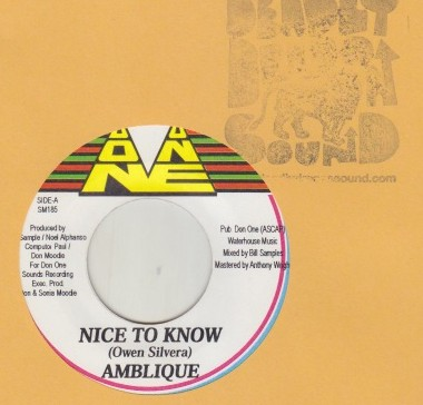 Ambelique - Nice To Know