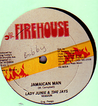 Lady Junie / Red Dragon - Jamaican Man / Duppy