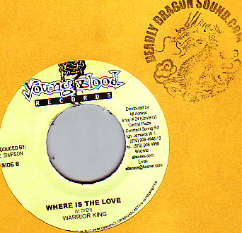 Warrior King - Where Is The Love