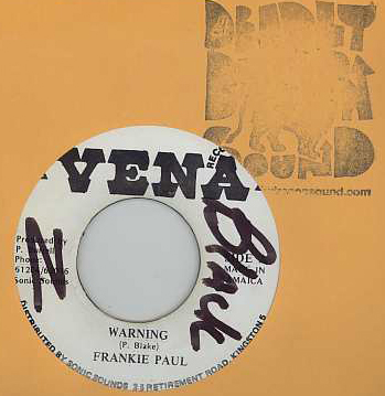 Frankie Paul - Warning