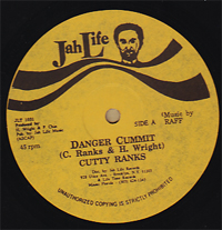 Cutty Ranks & Barrington & Chuck Turner - Danger Commit / Ruff Neck Rides Alone