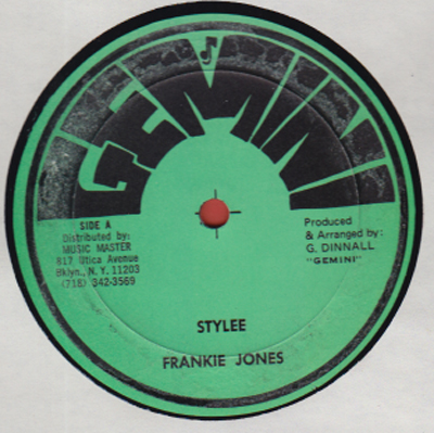 Frankie Jones - Styleee