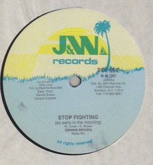 Dennis Brown - Stop Fighting (so Early In the Morning)